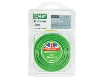 SL315 Light-Duty Petrol Trimmer Line 2.0mm x 15m